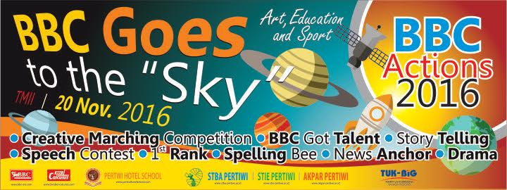 "BBC ACTIONS 2016 ""Goes to The Sky"""