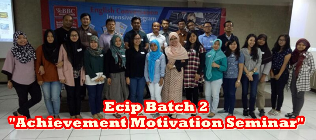 "ECIP ""Achievement Motivation Seminar"" Batch 2 2017"