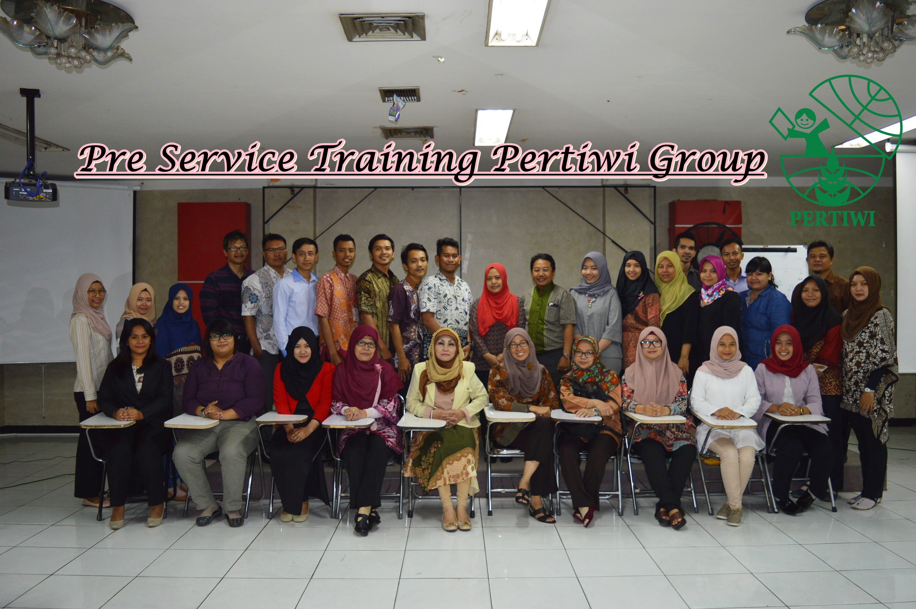 Pre Service Training Pertiwi Group 2017