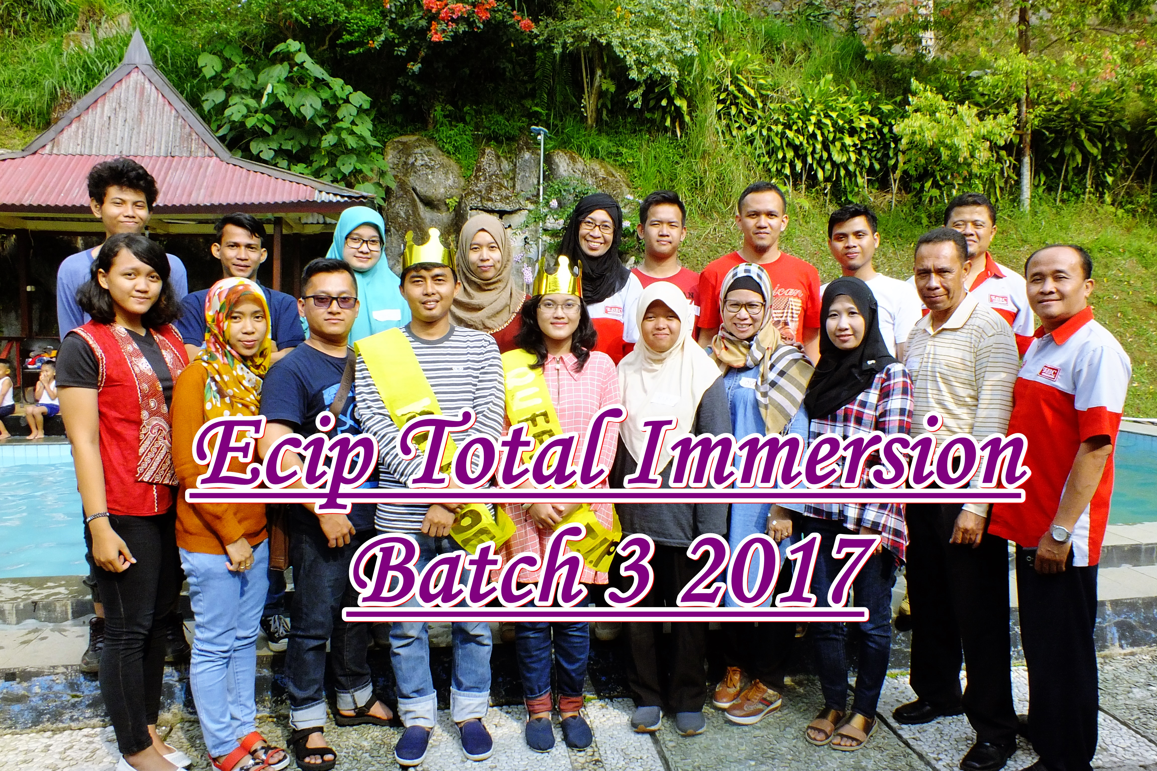 Total Immersion – ECIP Batch 3 2017