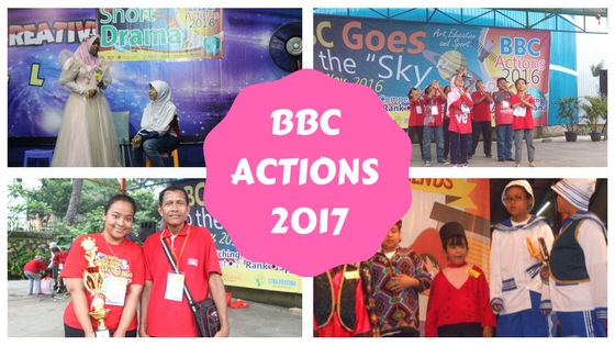 BBC ACTIONS 2017 IS COMING UP ……