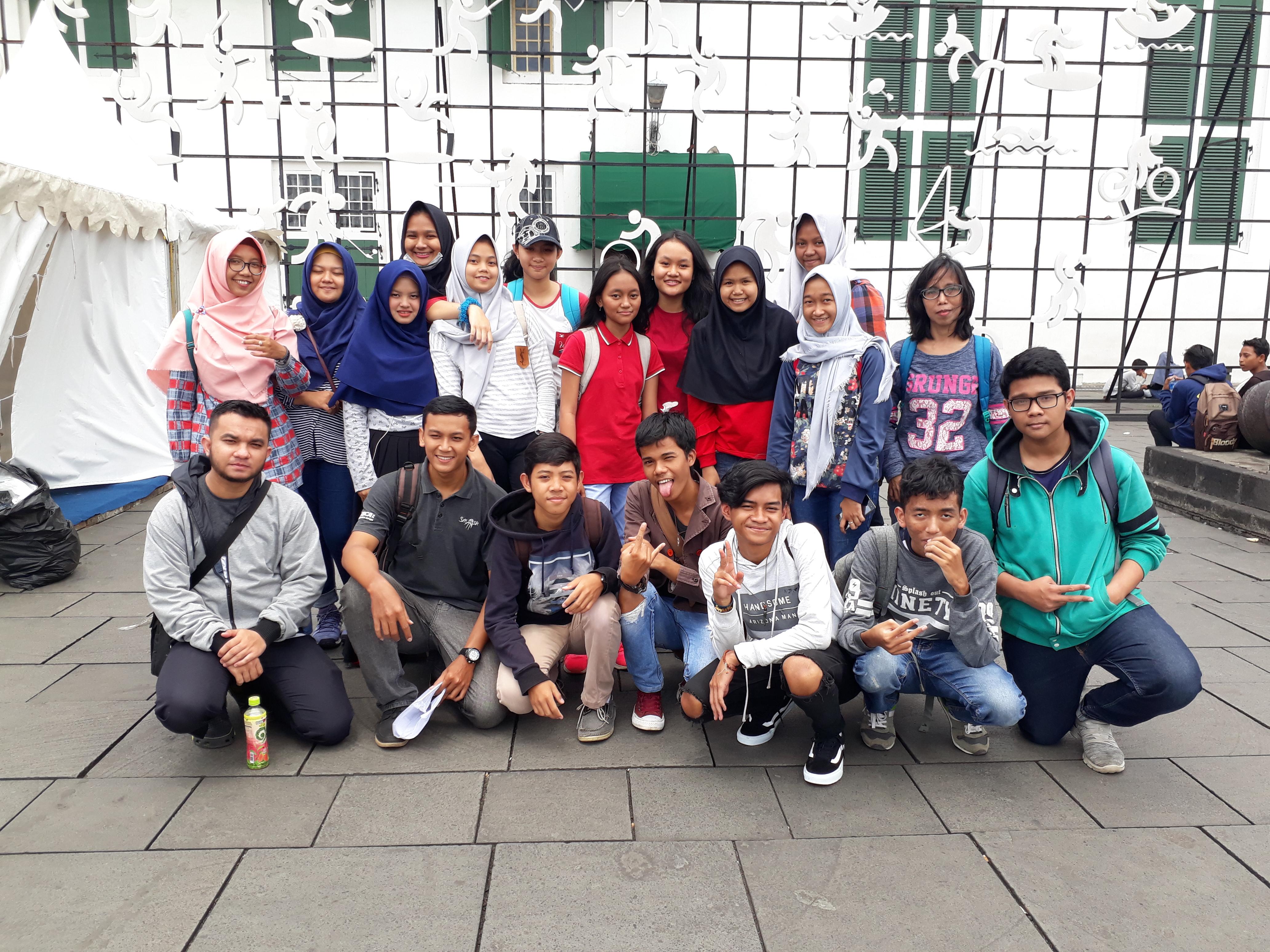 BBC Depok 1 Goes To Kota Tua