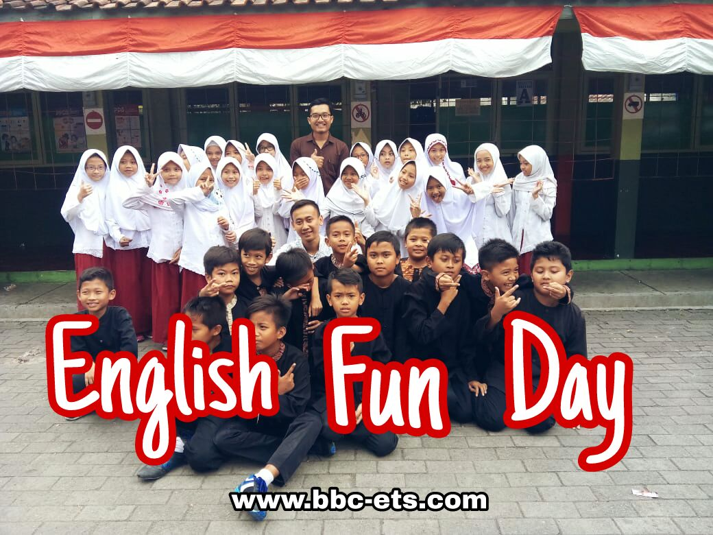 English Fun Day is Back ! (at SDN 269 Griba Bandung)