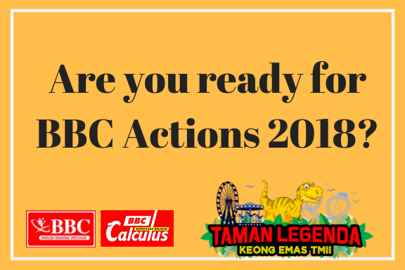 Are you ready for BBC ACTIONs 2018 _