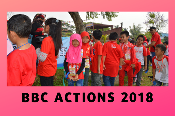 BBC ACTIONS 2018 at Taman Legenda Keong Mas-TMII