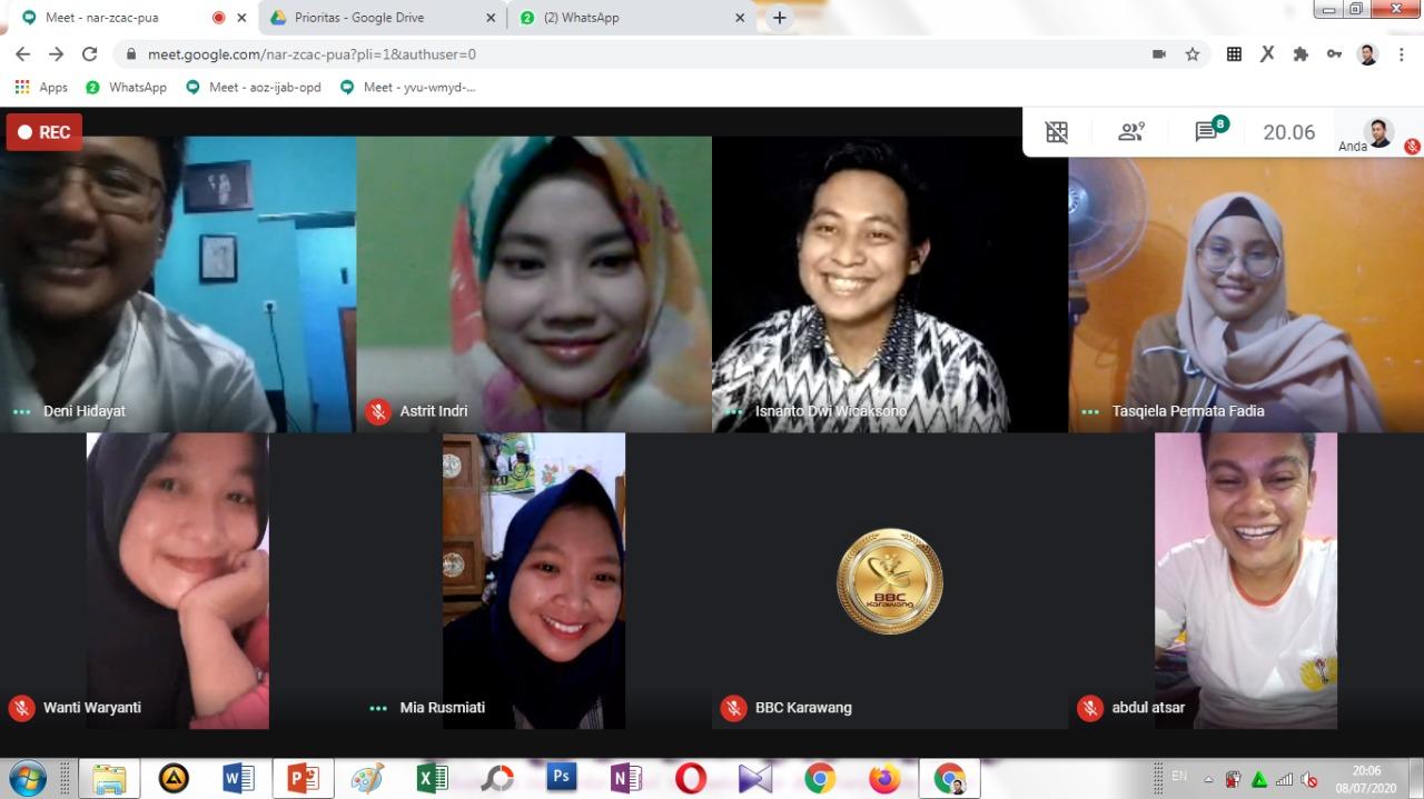 Pembelajaran Jarak Jauh by BBC ETS Karawang