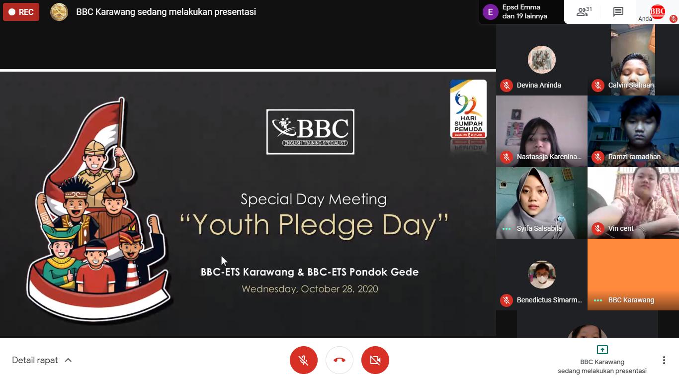 Sumpah Pemuda ala BBC ETS Pondok Gede dan BBC ETS Karawang