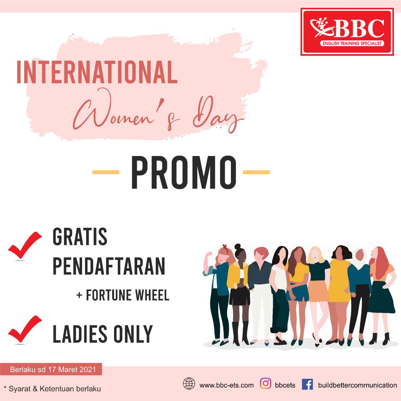 "Promo ""Hari Wanita Sedunia"""